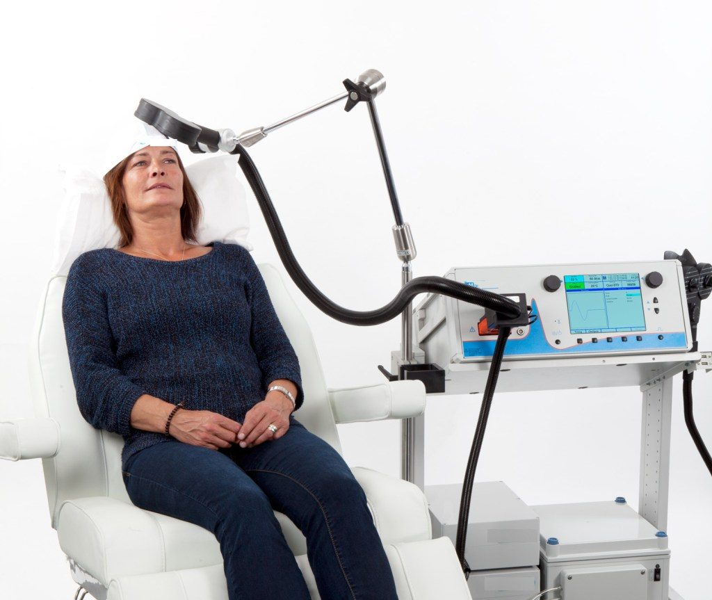 Transcranial Magnetic Stimulation (rTMS)